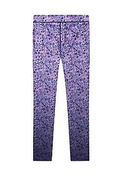 Zakti Kids Patterned Energise Leggings - Purple
