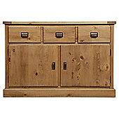 Portobello 2 Door Rustic Pine Sideboard