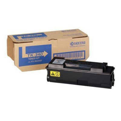 Kyocera Mita TK-340 Black (Yield 12,000 Pages) Toner Cartridge for FS-2020D Printers