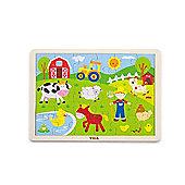 24 Piece Puzzle - Farm