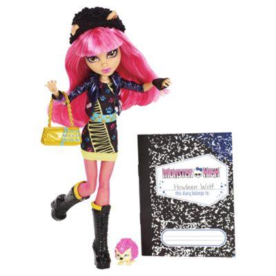 Monster High 13 Wishes Doll - Howleen