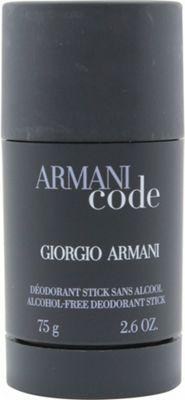 Giorgio Armani Code Deodorant Stick 75g Alcohol Free