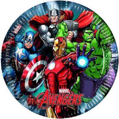Avengers Plates - 23cm Paper Party Plates