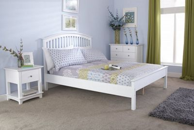 Madrid Wooden Bedstead Low Foot