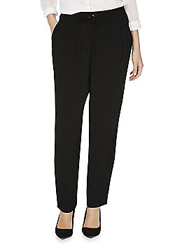 F&F Tapered Trousers - Black