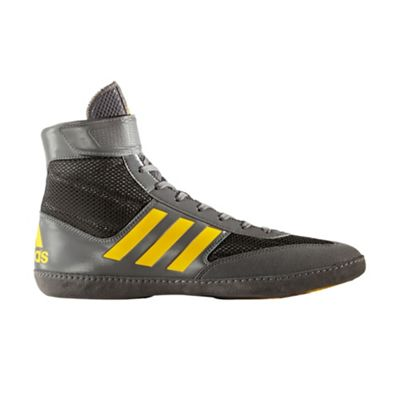 adidas Combat Speed 5 Mens Adult Wrestling Shoe Boot Grey - UK 10.5