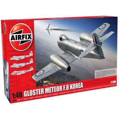 AIRFIX A09184 Gloster Meteor F8, Korean War 1:48 Aircraft Model Kit