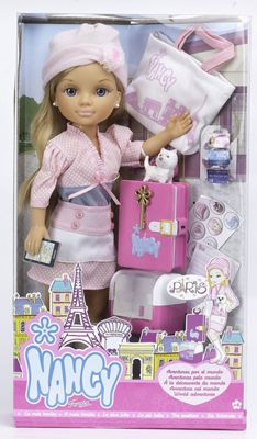 Nancy Paris World Adventures Doll