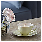 Fox & Ivy Orange Blossom Luxury Scented Filled Teacup Candle