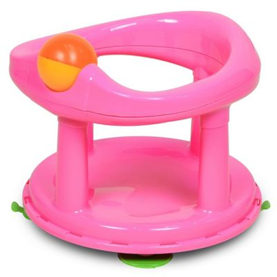 Safety 1st Swivel Bath Seat Pink with Rotating Ball