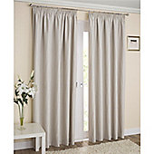 Enhanced Living Galaxy Pencil Pleat Curtains - Cream