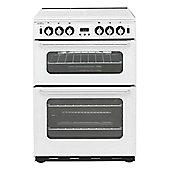 New World NH600TSIDOMWHI, 602mm, White, Gas Cooker