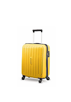 Carlton Phoenix 4-Wheel Hard Shell Yellow Medium Suitcase