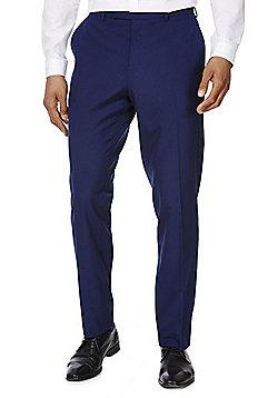 F&F Slim Fit Suit Trousers - Cobalt
