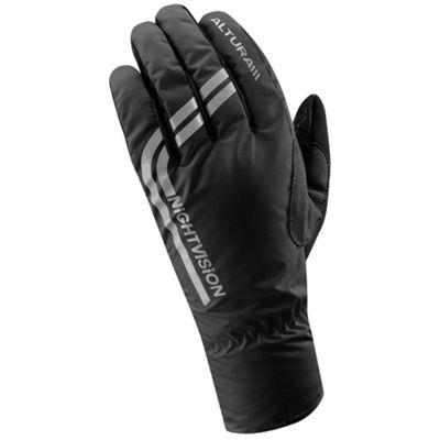 Altura Night Vision Waterproof Glove Hi Vis Black Size: S