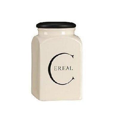 Fairmont Script Cereal Storage Jar