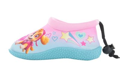 Girls Paw Patrol Pink Surf Aqua Sock Beach Swim Water Shoes UK Size 6