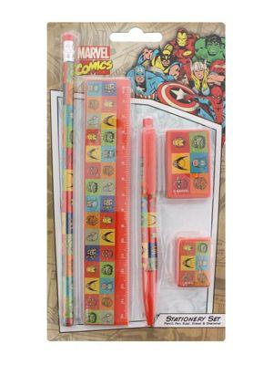 Marvel Comics Faces Stationery Set