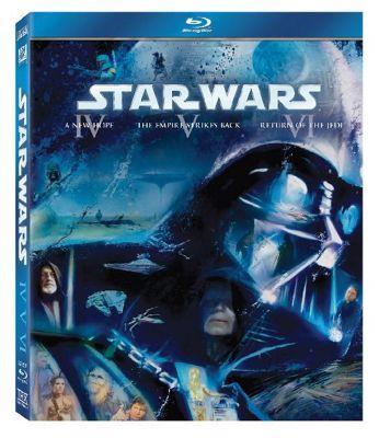 Star Wars - The Original Trilogy  (Blu-Ray Boxset)