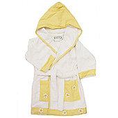Children's Bathrobe 3-4yrs- Yellow Daisy