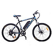 Cyclamatic Cx3 Pro Power Plus Alloy Frame Electric Bicycle / Ebike Black/Blue