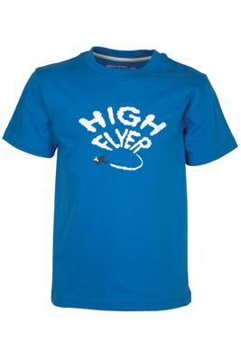High Flyer Kids Tee Shirt 100% Cotton Round Neck T-Shirt Top