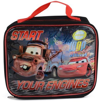 Disney Cars 2 Insulated Lunch Bag
