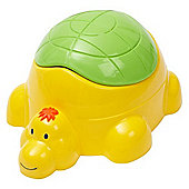 Tippitoes Turtle Potty (Yellow/Green)