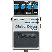 Boss DD-3  Digital Delay Compression Pedal