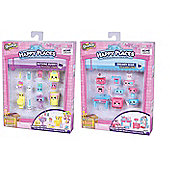 Shopkins Decorator Pack Bundle - Dreamy Bear and Bathing Bunny - 2 Items Supplied