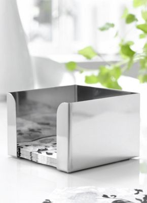 Steel Function Professional Cooking Small Napkin Holder