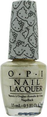 OPI Hello Kitty Nail Lacquer 15ml - Kitty White NLH80