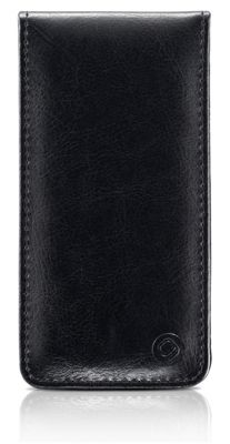Gear4 Leather Flip Case Cover for iPhone 5/5S - Black