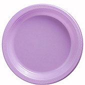 Lilac Serving Plates - 26cm Plastic - 50 Pack
