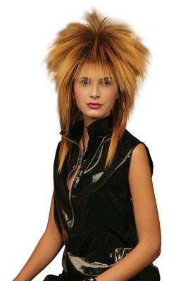 Tina Two Tone Wig. Gold/Black