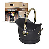 De Vielle Heritage Traditional Brass Coal Bucket