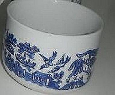 Churchill Blue Willow Jumbo Cup, 10cm