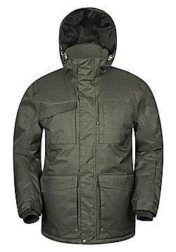 Mountain Warehouse Solar Mens Ski Jacket - Khaki
