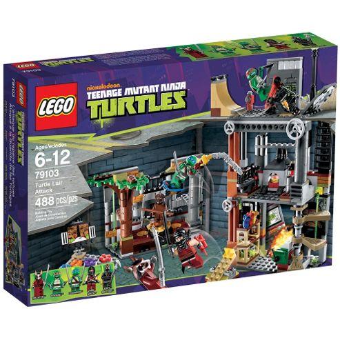 LEGO Teenage Mutant Ninja Turtles Turtle Lair Attack 79103
