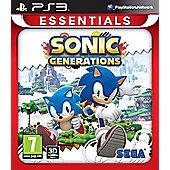 Essentials : Sonic Generations - PS3