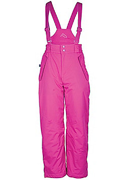 Sugar Girls Ski Pants Snowboarding Skiing Winter Over Trousers Snow Salopettes - Pink