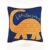 Dino Doodles Dinosaur Reversible Cushion