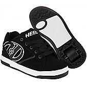 Heelys Propel Boys/Girls Roller Skating Shoe Trainer Choose Colour JNR 12 - UK7 - Black