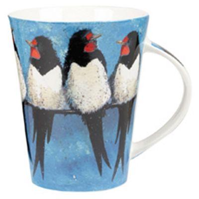 Churchill Alex Clark Swallows Flirt Mug