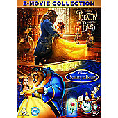 Beauty & The Beast (Live Action) DVD Double Pack