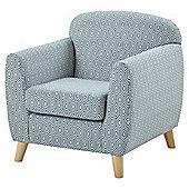 Holborn Accent Chair, Teal