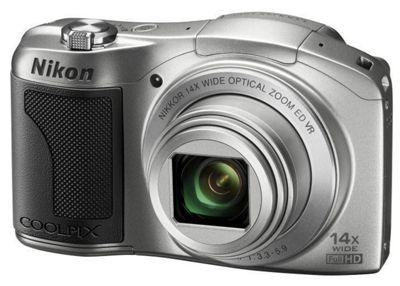 Nikon Coolpix L610 Digital Camera Silver