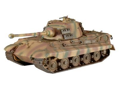 Tiger II Ausf. B 1:72 Scale Model Kit - Hobbies