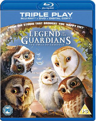 Legend Of The Guardians Bluray