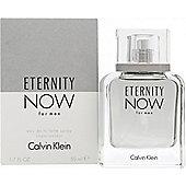 Calvin Klein Eternity Now For Men Eau de Toilette (EDT) 50ml Spray For Men